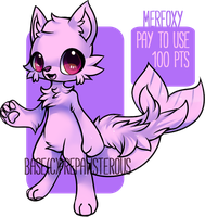 :Pay to Use Merfoxy(100 pts): by PrePAWSterous