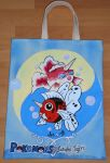 Goldeen and Seaking - totebag by aarre-pupu