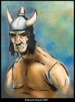 Barbarian Soldier by nemesisenforcer