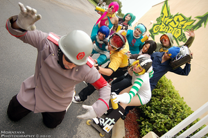 Jet Grind Radio Group by negativedreamer