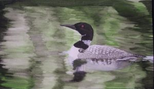Common Loon by whitekratoswolf