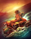Squirtle Used Surf . by RebeccaWeaver