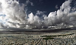 Above Athens II by ChrisKora