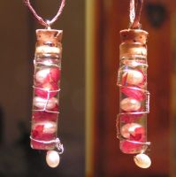 Magic Vial - Lil Love Pendant 2013 by Izile