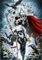 LADY DEATH by Vinz-el-Tabanas