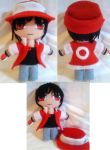 Contest Prize: Pokemon Trainer Red Mini Plush ver2 by mihijime
