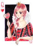 Queen of Hearts by starlightgenie