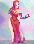 Jessica Rabbit's Approval by DarkwingSnark