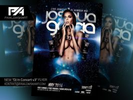DJ In Concert v3 Party Flyer Template by pawlowskiart