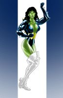 She Hulk Titania Style  8of10 by Thuddleston