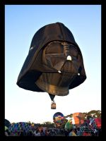 Darthvader Hot Air Balloon by Paigesmum