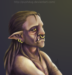Young orc by Pushdug