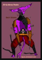 Section 1 ruler Solid-Silence by Ogono