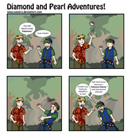 Diamond and Pearl Adventures by dreaminpng