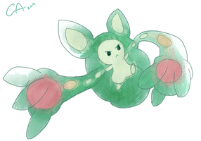 Reuniclus by Curlylucaya