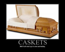 Casket Motivational Poster by QuantumInnovator