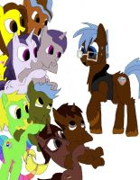 Any pony Got His Hoofs Full work 3 by daylover1313