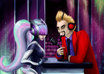 Maybe a word or two, honey...? by Soirema-pl