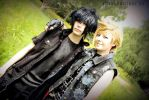 Noctis and Prompto FF15 by Kallisi