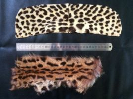 Jaguar and Ocelot pieces SOLD by Featheroes