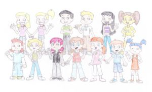 The Awesome Crew - The Whole Gang by TheAwesomeWorld