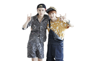 Sehun Xiumin (EXO) PNG Render by MiHVVN