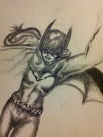 New52 Batgirl WIP.2 by Bent-Lantern