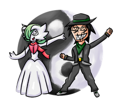 Gecko-7 and his Gardevoir by Gecko-7