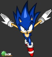 Sonic jumpin out at you by Gx3RComics