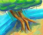 Tree by the Sea by rainbow010101