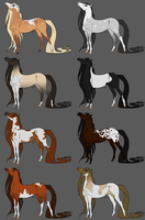 Horse Adopts Batch 17 [OPEN] by KCNM45875