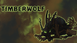 Timberwolf Wallpaper by CKittyKat98