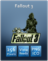 Fallout 3 Icon by UltimateAoshi
