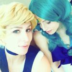 Sailor Uranus and Neptune by mr-e-QT