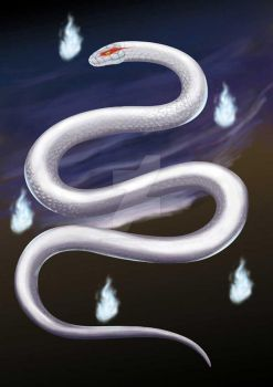 Snake Ghost by Tommybigfish