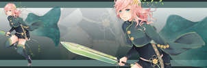 FINAL FANTASY XIII LR Contest entry 2 by Miss-Ariellia