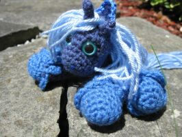 Mini Princess Luna Plushie Amigurumi 5 by RTakeshi