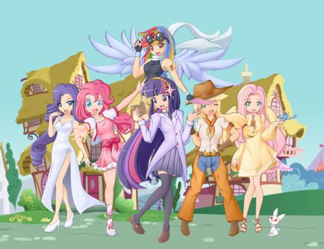 MLP FIM Collab' by T-babe