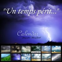 calendar 2012 . angryWeather by bosniak