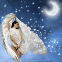 Floating Angel by martine8719