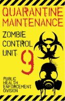 Zombie Control Badge by Memnalar