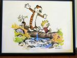 Calvin and Hobbes by catnmaus