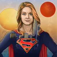 Supergirl - Two Suns. by DannyJarratt