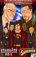 Stargate Sg1-Superman by actiontales