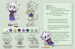 Bei character profile by PhuiJL