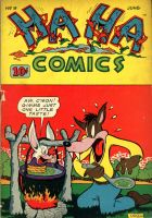 The Golden Age of comics was a weird time 9 by Rabbette