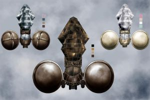 Color Comp Airship by Jessimie
