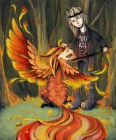 death of a phoenix by alphyna