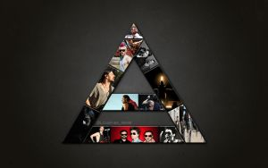 Triad Mosaic wallpaper by lovelives4ever