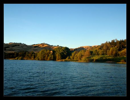 Lake Del Valle by m0nst3r